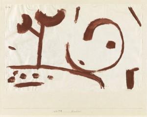 Paul Klee - Kindheit, 1938 Kleisterfarbe su carta su cartone, Berna - Zenztrum