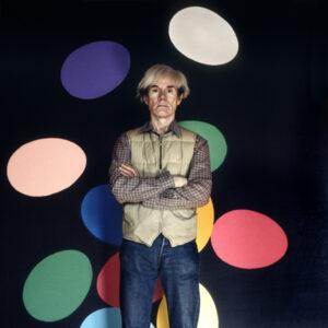 ANDY WARHOL NY 1986