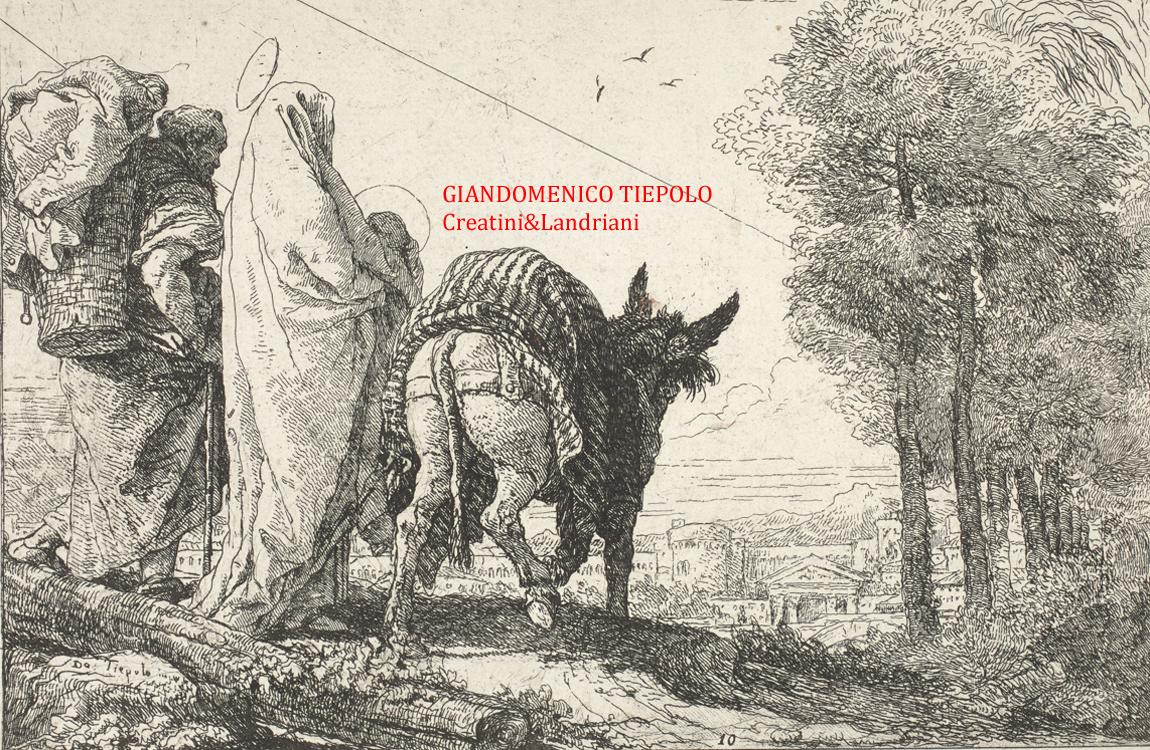 GIANDOMENICO TIEPOLO -Creatini&Landriani