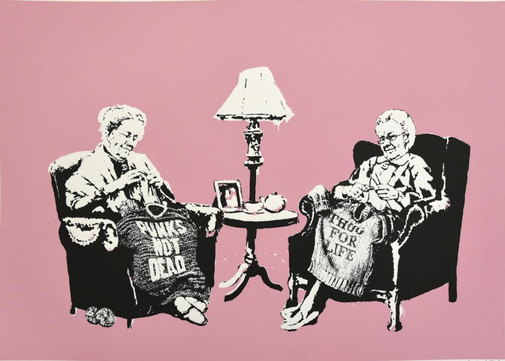 Banksy a WopArt 2017
