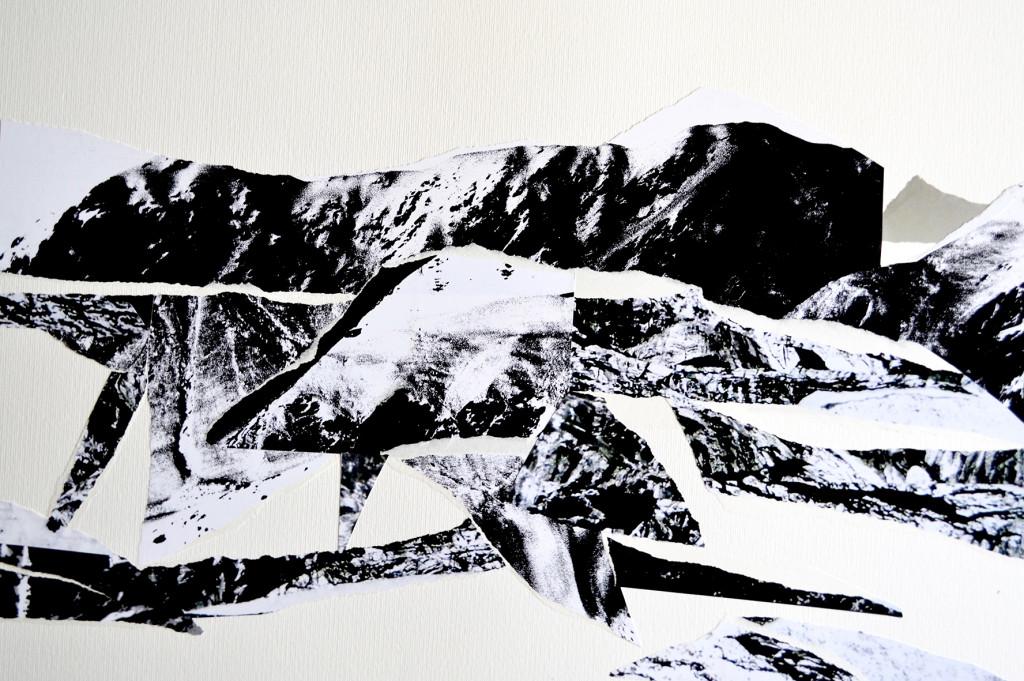 Galleria SpazioFarini6_Pier Paolo Fassetta_Strappi di memoria #7_2017_collage copia unica -50x70cm-courtesy pier paolo fassetta
