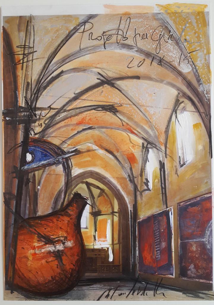 Antonio Ievolella TITOLO, ANNO Progetti per Ghirbe, 2015 TECNICA mixed media on paper DIMENSIONI 45 x 32 cm COURTESY Five Gallery