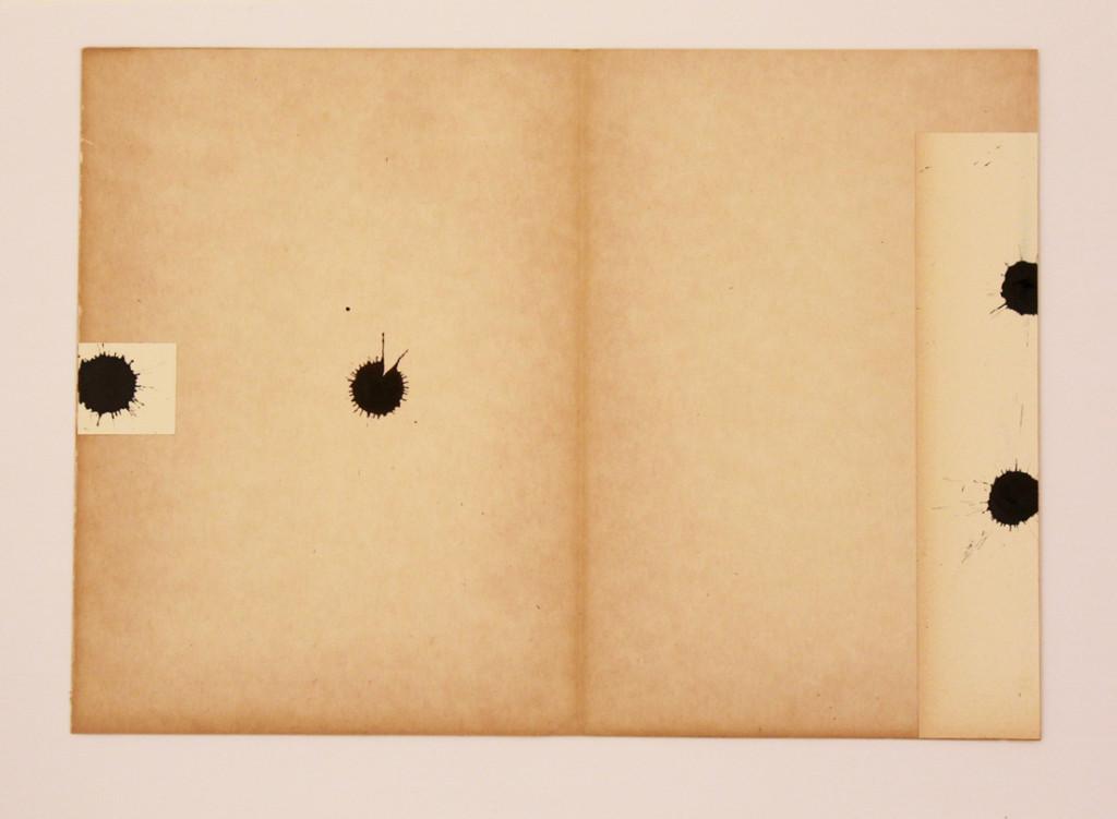 Paolo Canevari Black Tears, 2015 Inchiostro su carta 34,5 x 24,5 cm Edizione 1/1 Courtesy l'Artista e [dip] contemporary art, Lugano