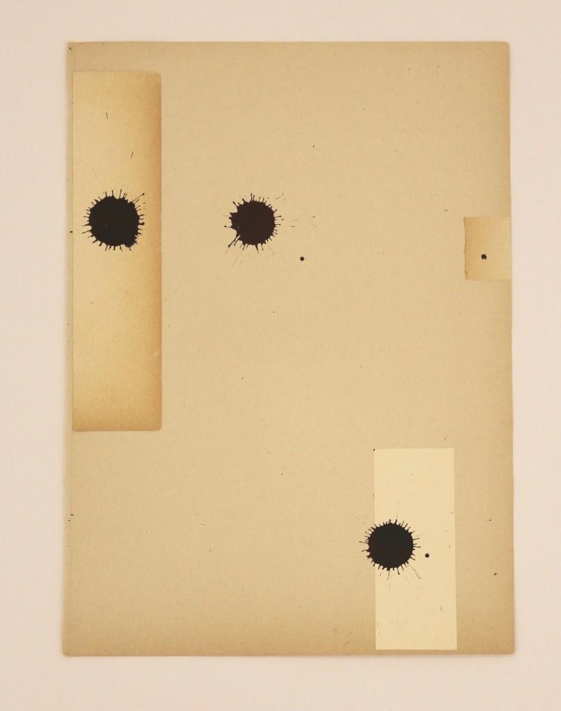 Paolo Canevari Black Tears, 2017 Inchiostro su carta 28 x 20 cm Edizione di 1/1 Courtesy l'Artista e [dip] contemporary art, Lugano