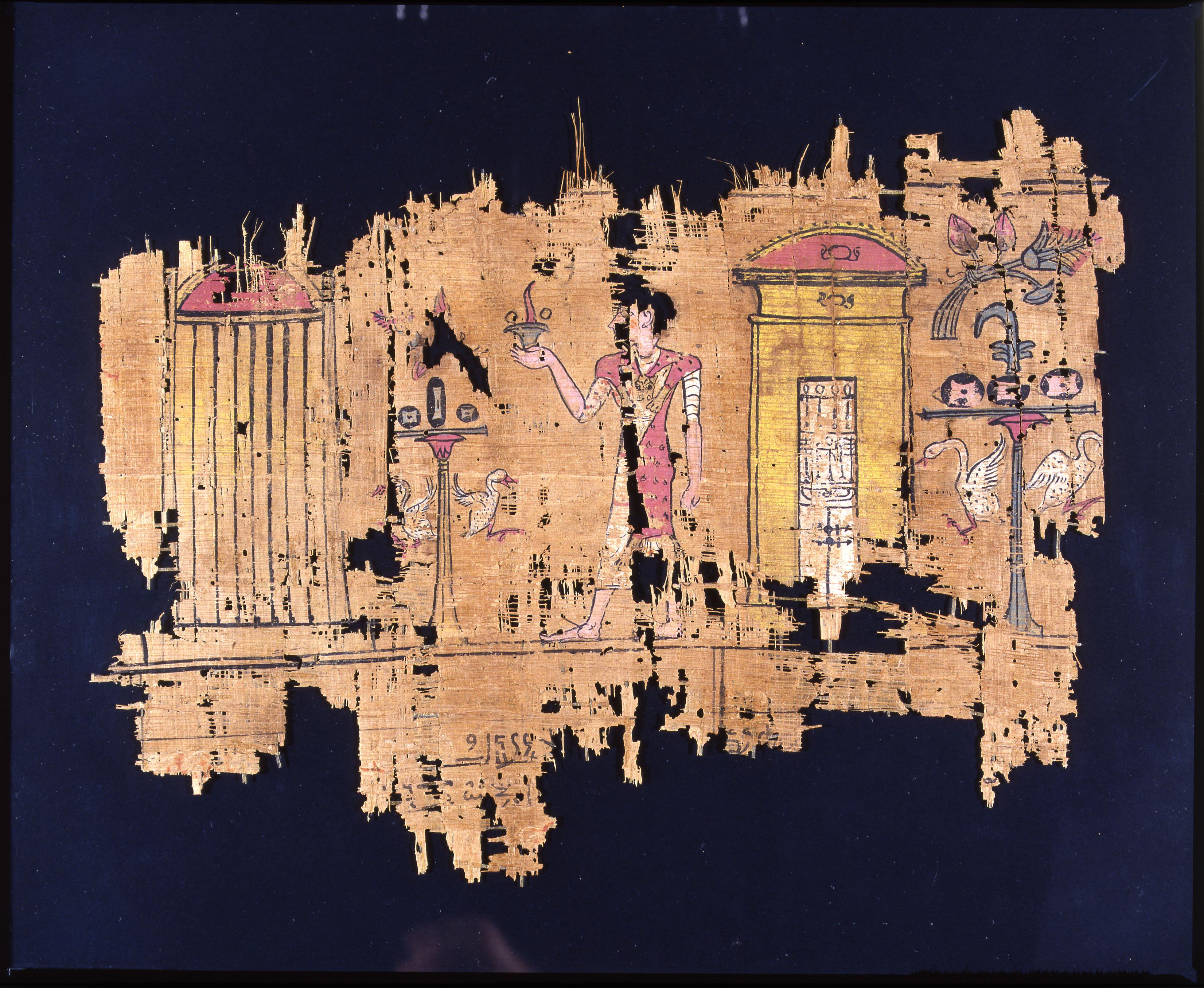 All'origine della carta: cinque papiri del museo egizio di Firenze
